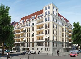 Fertigstellung Dahlmannstraße 8 in Berlin Charlottenburg